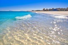 Xeraco Jaraco beach in Valencia Spain royalty free stock photography