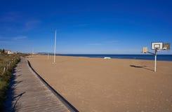 Xeraco Jaraco beach in Valencia Spain royalty free stock photos