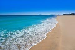 Xeraco Jaraco beach in Valencia Spain royalty free stock photo