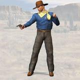 Xerife #02 ilustração stock