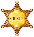 Xerife ilustração stock