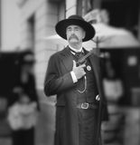Xerife, dias ocidentais selvagens, Temecula, Califórnia foto de stock royalty free