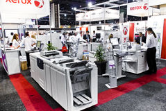 Xerox colora le stampanti a laser - Segno Africa 2010 Fotografia Stock Libera da Diritti