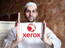 Xerox Corporation logo Stock Photos