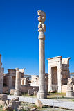 Xerxes Gate (of all nations) in Persepolis Royalty Free Stock Photos