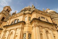 Xewkija kościół w Gozo, Malta Zdjęcie Stock