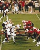 2001 XFL Las Vegas V Orlando Rage Arkivbild