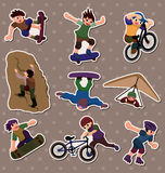 Xgame stickers Royalty Free Stock Photo