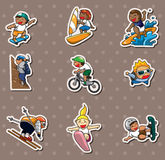Xgame stickers Stock Photo