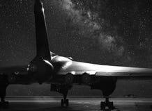 XH 558 бомбардировщик Vulcan Стоковые Фото