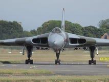 XH 558 бомбардировщик Vulcan Стоковая Фотография