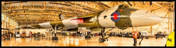 XH 558 бомбардировщик Vulcan Стоковое Фото
