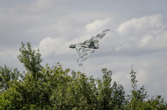 XH558 Avro Vulcan Bomber in Flight Royalty Free Stock Images