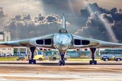 XH 558 de Vulcan-Bommenwerper royalty-vrije stock fotografie