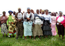 Xhosa-Frauen Stockbild