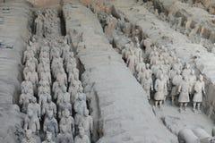 XI `, терракотовые ратники Стоковое Фото