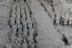 XI `, терракотовые ратники Стоковые Фото