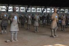 XI `, терракотовые ратники Стоковая Фотография