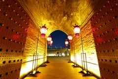 XI `一个古城门 库存图片