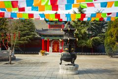 Free Xi`an Guangren Temple Ancient Chinese Architecture Stock Photos - 110743723
