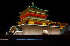 Xi'an Bell Tower Stock Photography