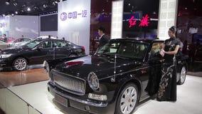 Xi'an China, - 30 de septiembre de 2013:- sal?n del autom?vil de Macao, metrajes