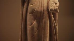 XI ?30 China-Mei 2012: Chinese oude culturele overblijfselvertoning in Shaanxi-Museum stock videobeelden