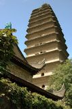 Xi'an, China: Wild Goose Pagoda Royalty Free Stock Photo