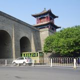 Xi'an Circumvallation royalty-vrije stock afbeeldingen