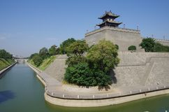Xi'an Circumvallation royalty-vrije stock fotografie