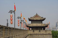 The Xi'an Circumvallation Royalty Free Stock Photos