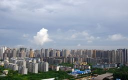 Xi an city in China Royalty Free Stock Images