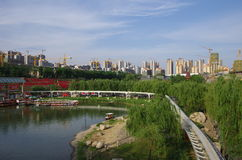 Xi an city in China Stock Image