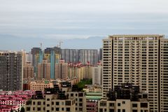 Xi an city in China Royalty Free Stock Image