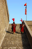 Xi'an city wall Royalty Free Stock Photography