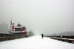 Xi'an city wall Stock Image