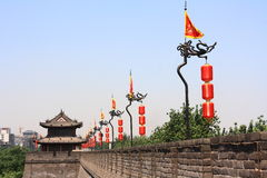 Xi'an City Wall Stock Image