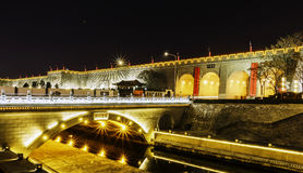 wall of xian royalty free stock photo