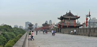 Xi'an City Wall Stock Photos