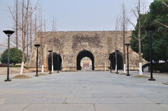 Xi'an city walls Stock Images