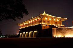 Xi'an Daming Palace Lizenzfreies Stockbild