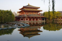 Xi 'an datang furong garden in China Stock Image