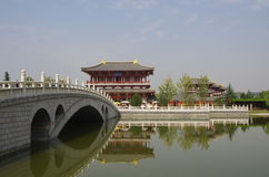 Xi 'an datang furong garden Stock Photography