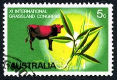 XI de Internationale Australische Postzegel van het Weidecongres Stock Foto