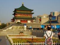 Xi'an Dzwonkowy wierza obraz royalty free
