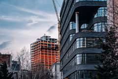 The XI east tower under construction in March 2019 Chelsea New York City royalty free stock image
