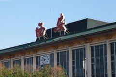 ` XI ein Bahnhof, ist es alte öffentliche Gebäude, Transport Stockfotos
