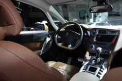 ` XI eine Automobilausstellung die Szene stockfotos