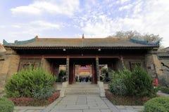 ` XI en stor moské för huajuegränd Arkivbilder