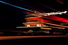 ` XI ett Klocka torn royaltyfria foton